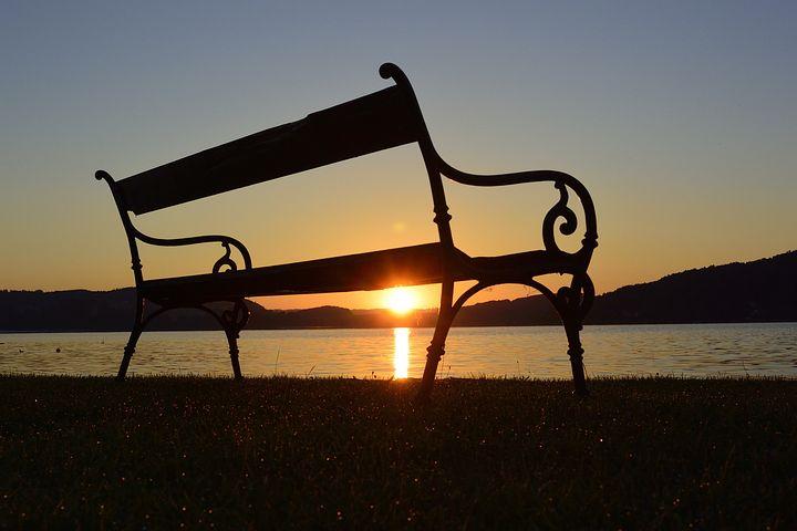 Sunrise, Lake, Morgenstimmung, Landscape, Morgenrot