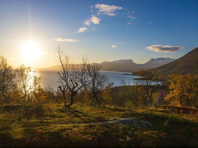 Björkliden, Landscape, Lapland, Autumn, Morning