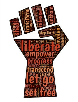 Fist, Liberate, Change, Freedom, Revolution, Revolt