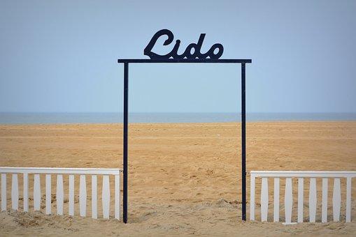 Lido, Sea, Beach, Holiday, Blue Sky, Oostende