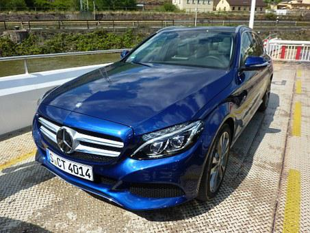 Mercedes-benz, Class C Break, Auto, Existence, Blue