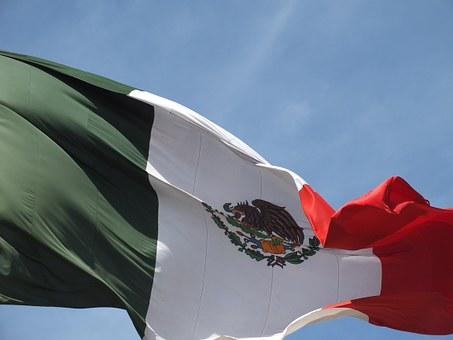 Mexico, Flag, Sky, Mexican Flag, Coat Of Arms