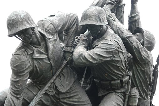 Wo Jima, Monument, Sculpture