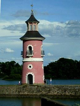 Lighthouse, Moritz Castle, Moritz Burger Ponds
