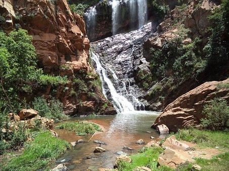Waterfalls, Nature, Scenery