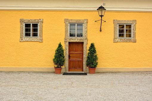 Input, Door, House Facade, Old, Architecture, Hauswand