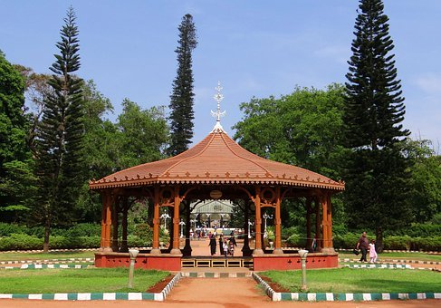 Gazebo, Canopy, Garden, Bangalore, India, Outdoor