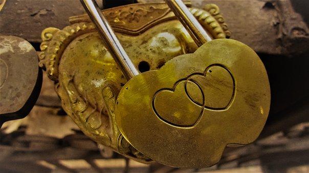 Love, Padlock, Romance, Forever, Lock