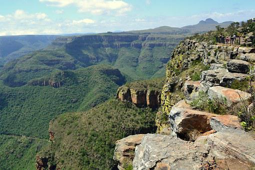 South Africa, Panorama Route, Blyde River Canyon, Gorge