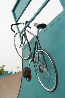 Pixie, Park, Bike, Pixie Bike, De Fix Gear, Smile Bike