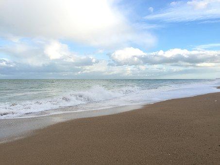 Beach, Sun, Sea, Sand, Holiday, Holidays, Sky