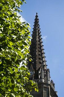 Bell Tower, Church, Heritage, Summer, Vitreous