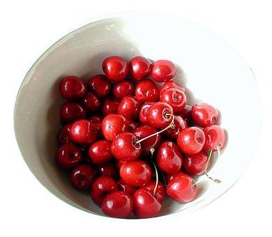 Cherries, Shell, Fruit Bowl, Fruit, Sweet, Delicious