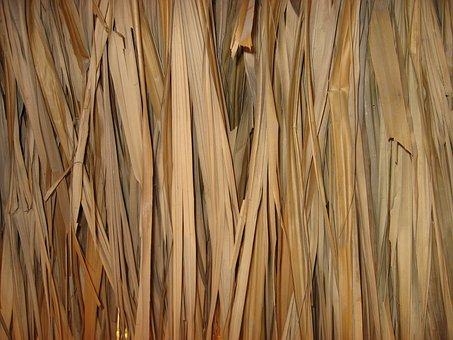 Texture, Straw, Hut