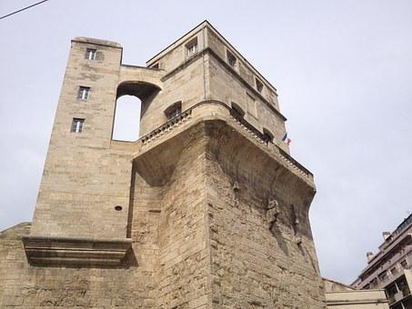 Tower, Architerture, The Babote Tower, Montpellier