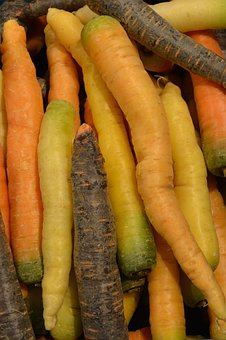 Carrots, Vegetables, Roots, Power Supply, Food Items
