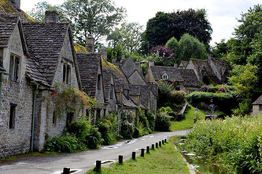 England, Great Britain, Cotswolds, Village, Countryside