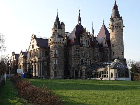 Castle, Building, Monument, Tower, Architecture