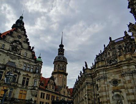 Hofkirche, Dresden, Historic Old Town, Steeple