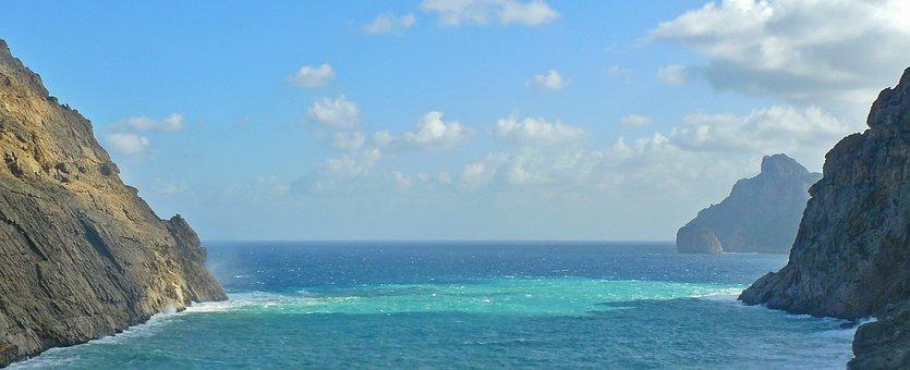 Sea, Coast, Rocky Coast, Cliff, Rock, Landscape, Nature