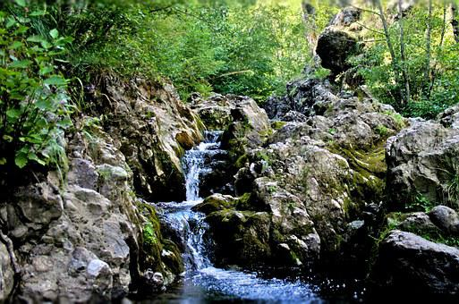Waterfall, Summer, Clear, Fresh, Water, Nature