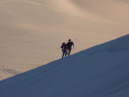 Dune, Desert, Dry, Hot, Sand, Ridge, Rise, Heat