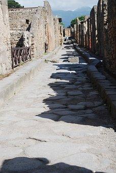 Ruins, Italy, Roman, Architecture, Europe, City