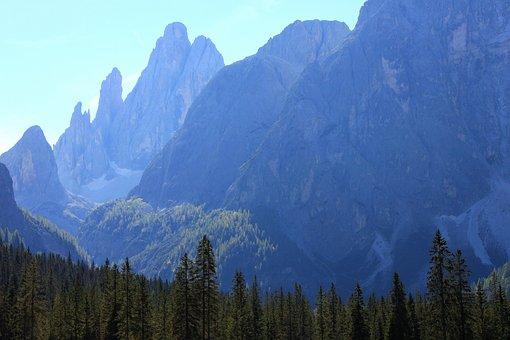 Dolomites, South Tyrol, Fischleintal