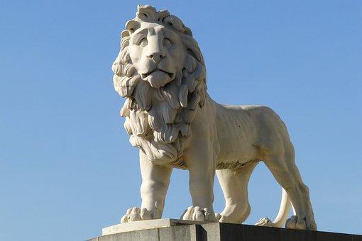 Lion, Statue, Fig, Architecture, London, Capital