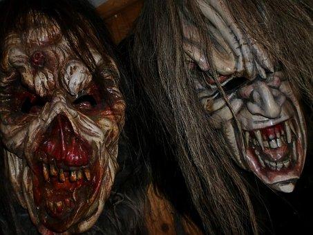 Krampus, Tuifl, Horror, Masks, Creepy, Evil, Austria