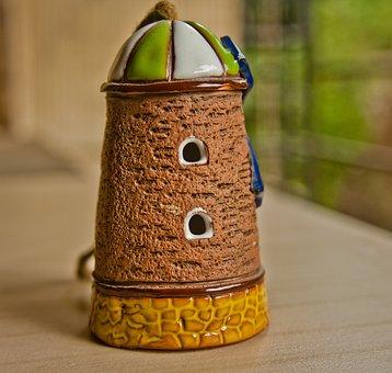 Windmill, Toy, Ceramics, Wind