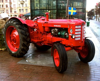 Tractor, Volvo, 1959, Tool, Agricultural, Helsingborg
