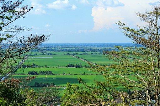 Moutain, Vietnam, Farm, Field, Landscape, Green, Asia