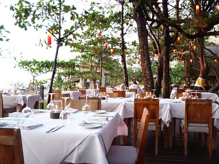 Indonesia, Bali, Dining Out, Tropical Dining