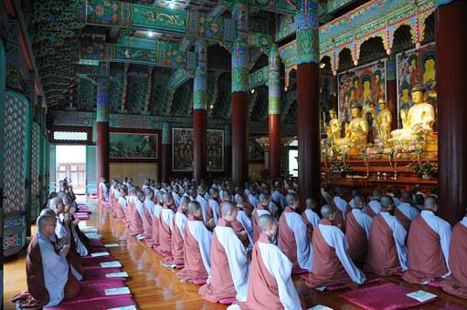 Buddhism, Buddha, Temple, Republic Of Korea, Unmunsa