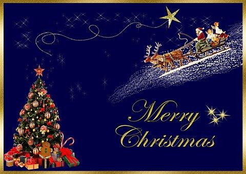 Christmas Card, Merry Christmas, Christmas Greeting