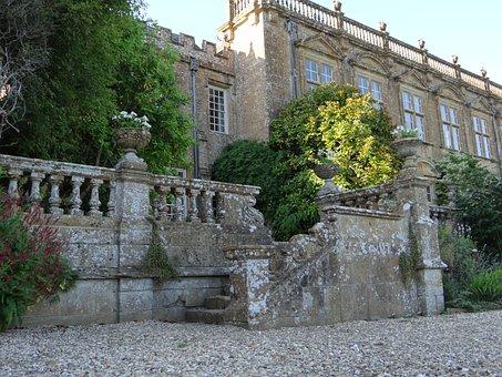 Country Estate, Castle, England, Architecture, Garden