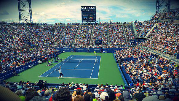 Athletes, Audience, Competition, Court, Crowd, Fans