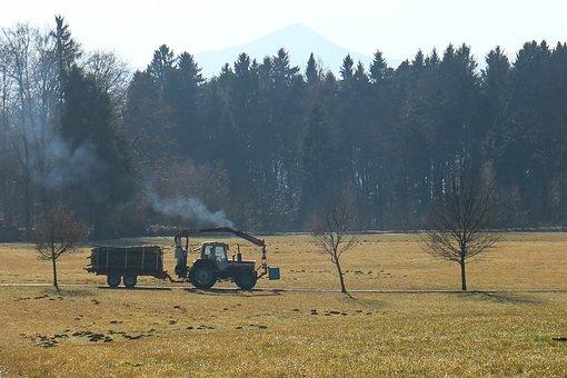 Tractor, Tractors, Drive, Drives, Driving, Farm