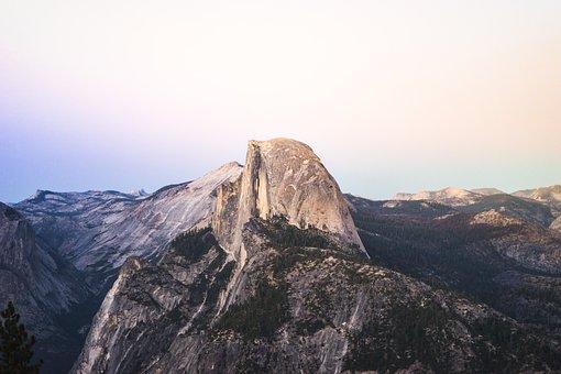 Clear Sky, Climb, Hike, Idyllic, Landscape, Mountain