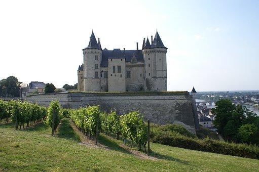 Saumur, Castle, Loire