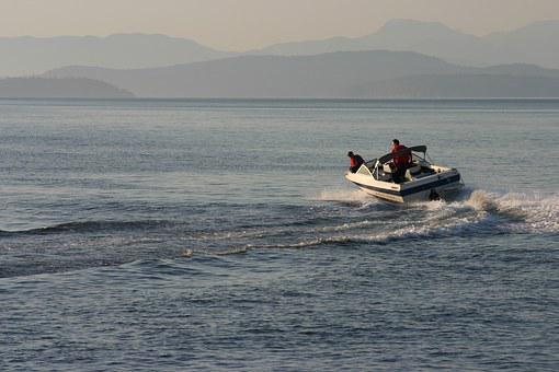 Boating, Westcoast, Powerboats, Water, Boat, Sea, Blue