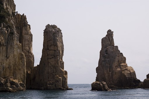 Also Somaemul, Tongyeong, Island, Rock