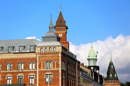 Helsingborg, Town Hall, Historic Buildings