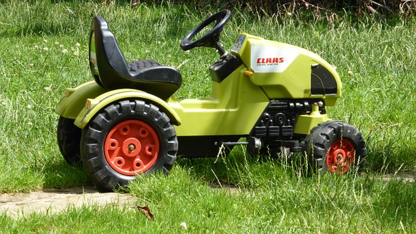 Tractor, Toys, Claas, Play, Tractors, Large, Drive
