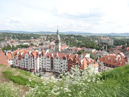 City, Buildings, Architecture, View, The Roofs, Klodzko