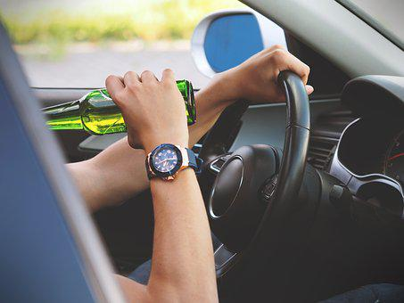 Adult, Alcoholic, Arms, Beer Bottle, Blur, Car