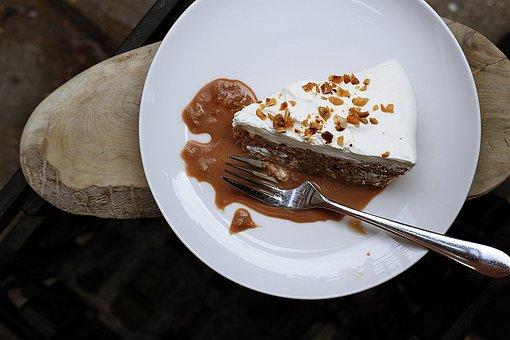 Baking, Cake, Ceramic, Delicious, Dessert, Food, Fork