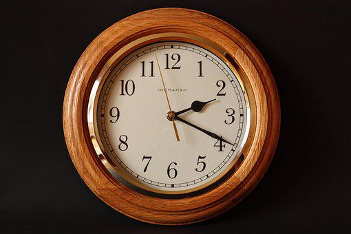 Alarm Clock, Classic, Clock, Dial, Gold, Late, Minute