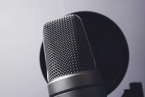 Chrome, Close-up, Mic, Microphone, Music